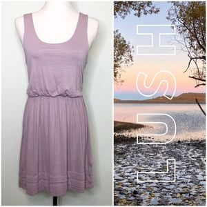 Lush Muted Lavender Jersey Dress M